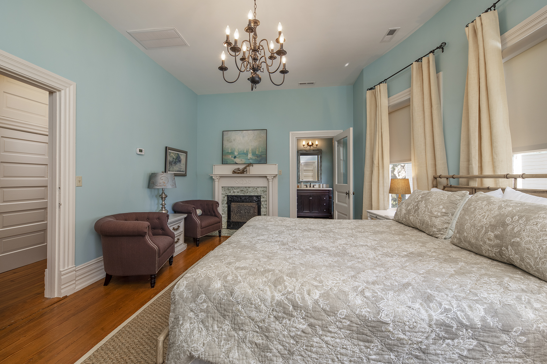 Bedroom in the Jarvis